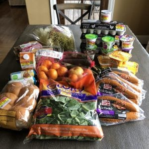 $70 Grocery Budget Challenge (what I bought + our menu for this week)