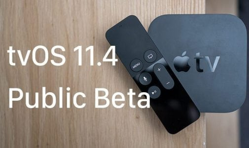 Apple Seeds Second Public Beta of tvOS 11.4 for Public Beta Testers