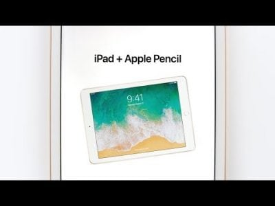 Apple Shares New Videos Promoting Apple Pencil Support on 2018 iPad
