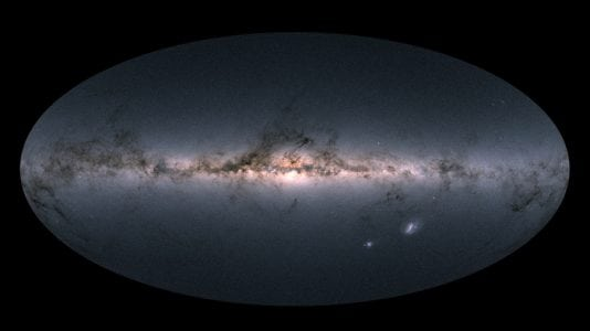 Astronomers just made a 3D map of over 1 billion stars in our galaxy