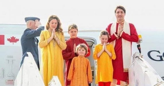 Cross-Cultural Disaster:  Canadian Prime Minister Trudeau in India