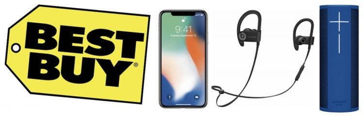 Deals: iPhone X and Beats at Best Buy, 2017 iPad at Walmart, and Latest Anker Discounts