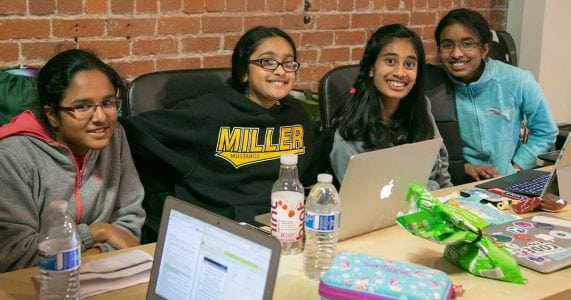 Hackathons Are Usually Dominated by Men; This One Was Just for Girls