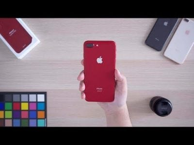 Hands-On With the New (PRODUCT)RED iPhone 8 Plus and iPhone X Leather Folio