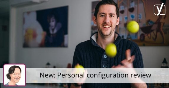 Personal configuration review: Train your skills and get our feedback