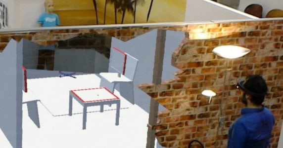 See Straight Through Walls by Augmenting Your Eyeballs With Drones