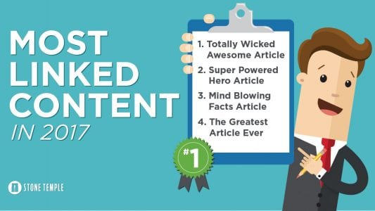 The Most Linked Content of 2017