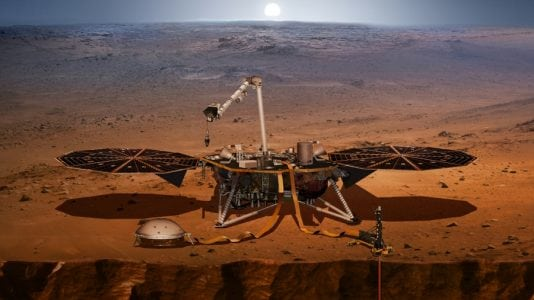 The first-ever mission to study what's under the Martian surface begins May 5
