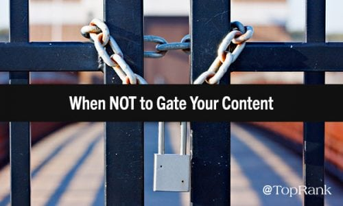 To Gate, or Not to Gate? Answers to an Age-Old Digital Marketing Question