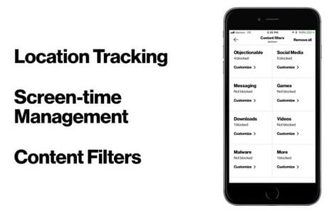 Verizon Announces Updated 'Smart Family' iOS App With Screen Time Management, Content Filters, and More
