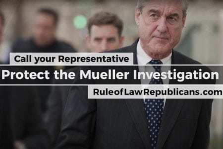Watch the Pro-Mueller ad from Republicans afraid Trump's going to fire the special counsel