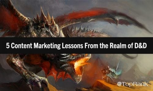 What Content Marketers Can Learn From an Adept Dungeon Master