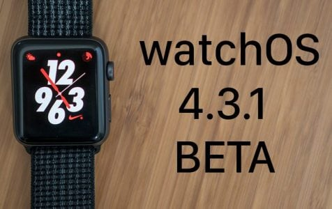 Apple Seeds Fourth Beta of watchOS 4.3.1 to Developers