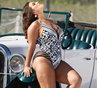 Ashley Graham Flaunts Her Beautiful Curves In Unedited Swimsuit Campaign