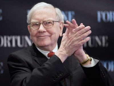 Berkshire Hathaway Bought 75 million Additional Apple Shares in Q1 2018