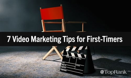 Camera Shy: 7 Tips for First-Time Video Marketers