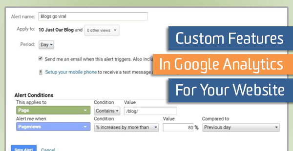 Custom Features in Google Analytics for Your Website