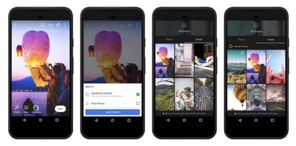 Facebook to Launch Cloud Storage Feature for Photos and Videos Taken With In-App Camera