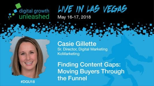 Finding Content Gaps: Moving Buyers Through the Funnel