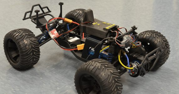 Haptic Safety for Unmanned Vehicles