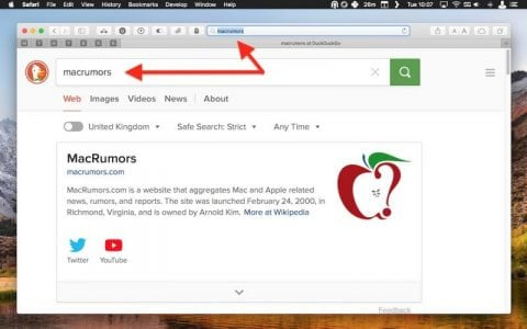 How to Snap Back to Your Search Results When Browsing in a Safari Tab