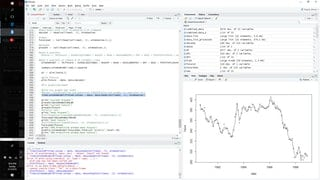 I coded up something that scrapes the federal reserve for machine learning (Multiple and Logistic Regression).