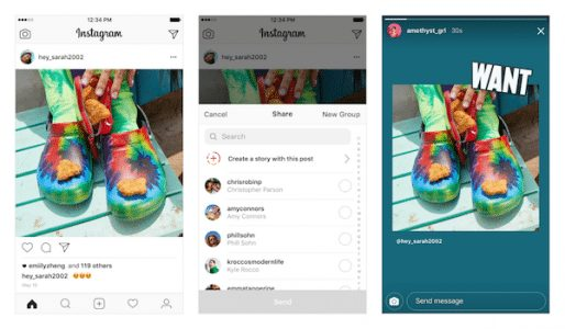 Instagram Now Allows Feed Posts To Be Shared On Your Stories