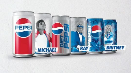 Michael Jackson & Britney Spears Will Be Featured On Limited Edition Pepsi Cans