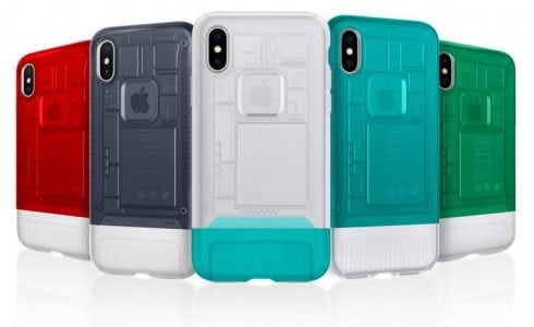 Spigen Launches New iPhone X Cases Inspired by Classic Apple Designs