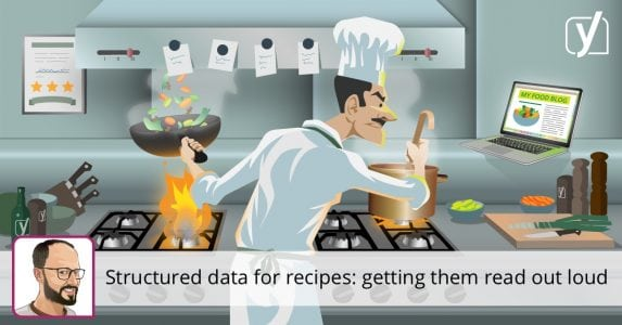 Structured data for recipes: getting content read out loud