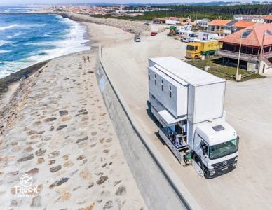 Surf Couple Designs Amazing Hotel-On-Wheels To Endlessly Chase The Waves