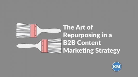The Art of Repurposing in a B2B Content Marketing Strategy