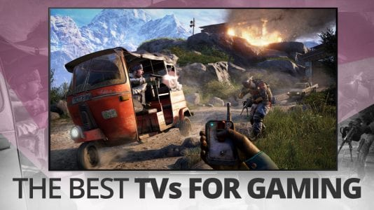 The best TVs for gaming on PS4 and Xbox
