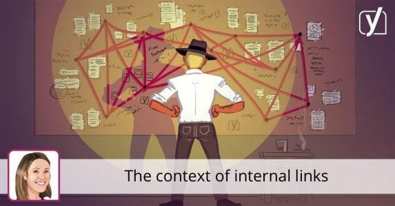 The context of internal links