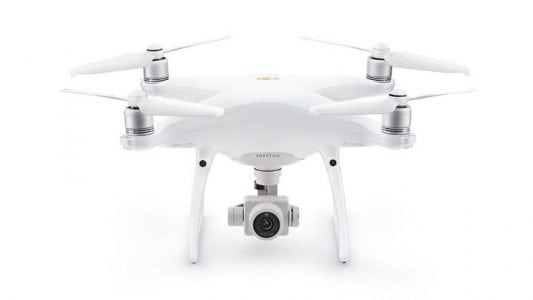 The new DJI Phantom 4 Pro is up to 60% quieter than the old model