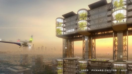 Uber is building a flying taxi lab in Paris