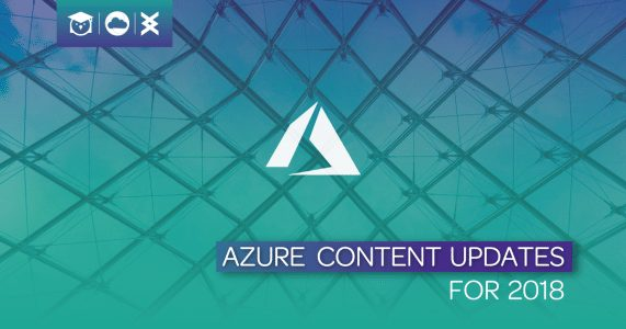 Update: Azure Content for 2018