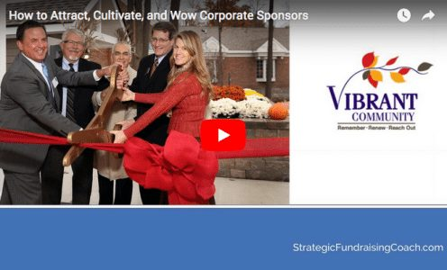[VIDEO] How Nonprofits Can Attract, Cultivate, and Wow Corporate Sponsors