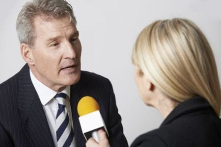 Why spokespeople fall apart on the last question