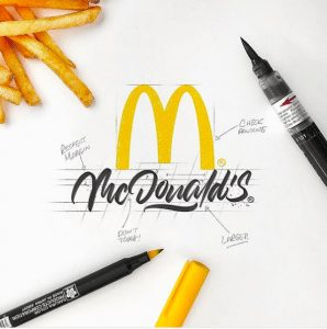World-Famous Logos Get Redesigned In Unique, Hand-Drawn Calligraphy Style