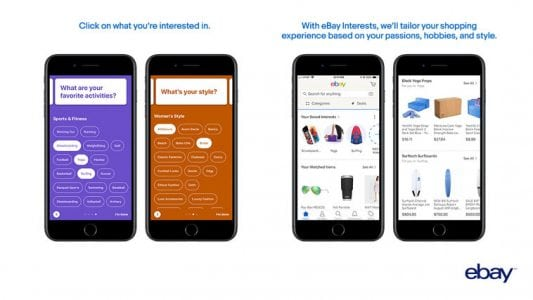 eBay Updates App With Apple Music-Inspired 'Interests' Feature for More Personalized Shopping