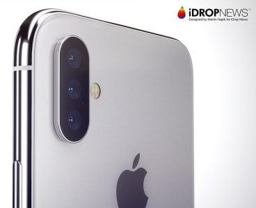 Rumors Persist About Triple-Lens Rear Camera System With Advanced 3D Sensing on 2019 iPhones