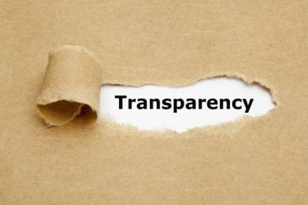 7 rules for being transparent