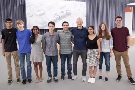 Apple CEO Tim Cook Shares Video of WWDC 2018 Scholarship Winners and Their Apps