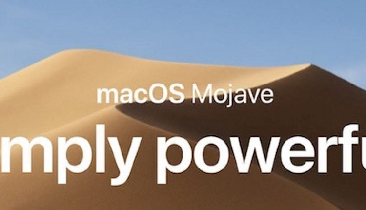Apple Releases Second Beta of macOS Mojave to Public Beta Testers