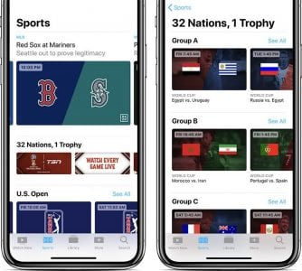 Apple's TV App Gains Live Sports and News in Canada as FIFA World Cup Begins
