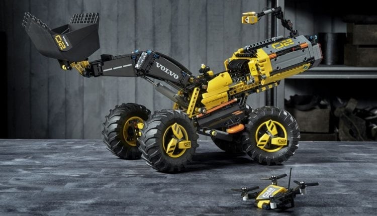 Building a real-life Wall-E: how kids helped Lego Technic and Volvo design the autonomous Zeux wheel loader