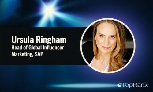 Digital Marketing Spotlight: An Interview With Ursula Ringham, Head of Global Influencer Marketing, SAP