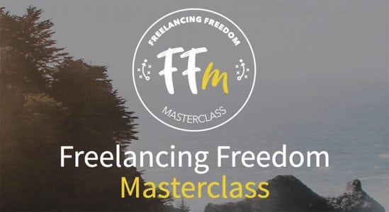 Freelancing Freedom Masterclass is OPEN for enrollment