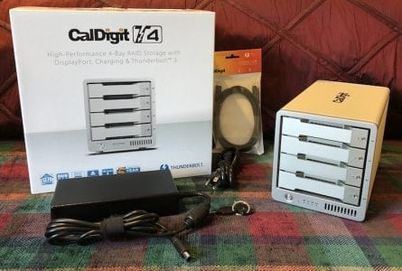 Review: CalDigit's T4 RAID Offers Lots of Fast Storage, Thunderbolt 3, and 85W Charging